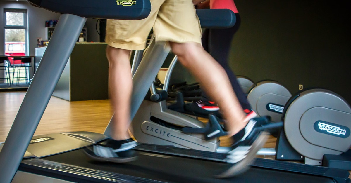 Treadmill Run Guide Home Fitness Workout